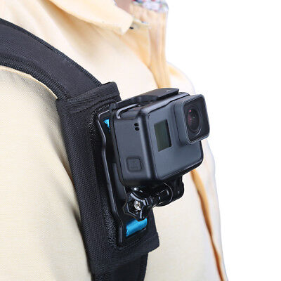 For GoPro Hero 6 5 4 3+Camera Quick Release Strap Mount Shoulder Backpack Mount