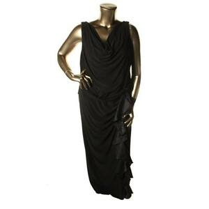 Plus Size Formal Gowns Black