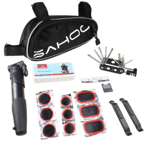 Sahoo Bicycle Bike Tyre 14 in 1 Multi-use Repair Tools Kits