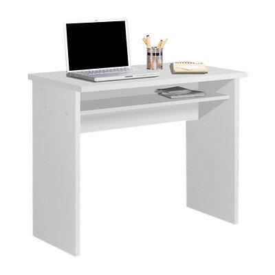 Escritorio, mesa ordenador, estudio, oficina, despacho. Color blanco