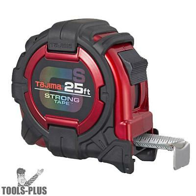 Tajima Gs-25bw Gs Lock Tape Measure 25 X 1-116 Tetherable New