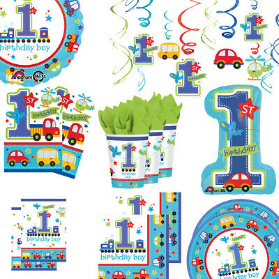 Dekoration und Tischzubehör für die erste Geburtstagsparty, Riesen Auswahl (Ersten Geburtstag Dekoration)