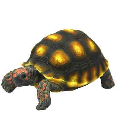 Hobby Turtle 1 - 10x6x5cm Schildkröte für Terrarium Deko Zubehör Schildkröten ()