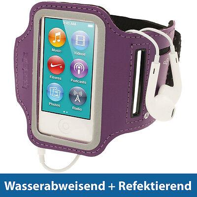 Lila Sports Armband für Apple iPod Nano 7. Generation 16GB 7G Oberarm Tasche (Ipod Armband Lila)