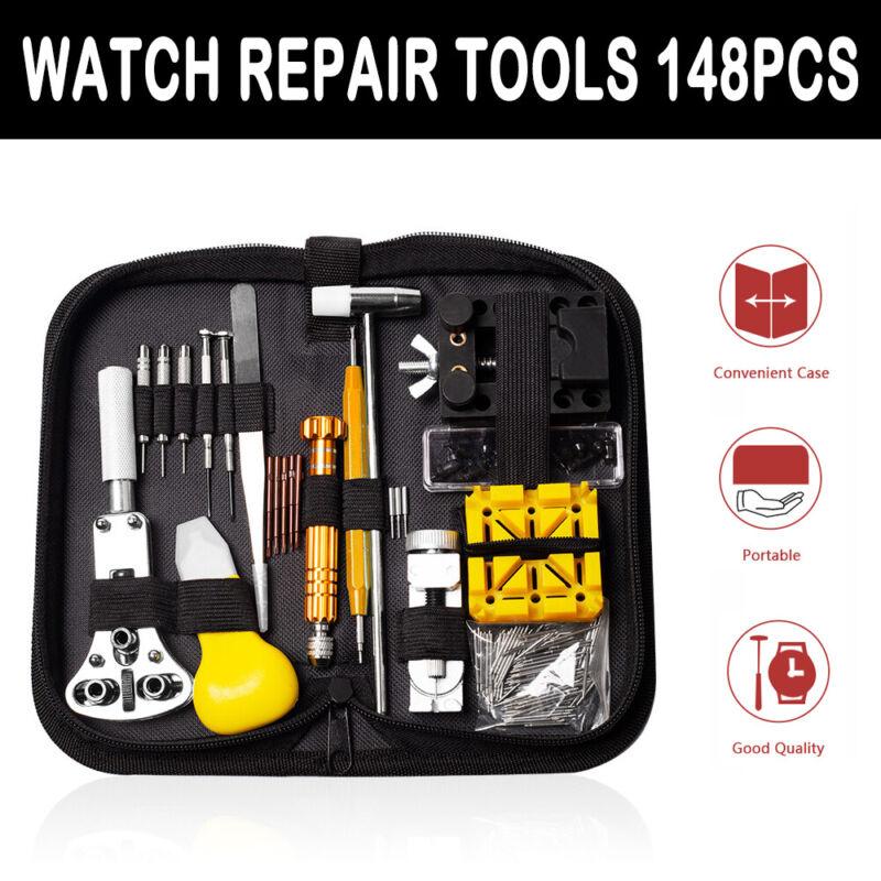 Uhrenwerkzeug Set 148tlghr Uhr Reparatur Uhrmacherwerkzeug Batteriewechsel