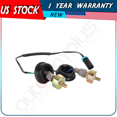 Front Knock Sensor & Harness Assembly For 2000-2006 Chevrolet Tahoe Pair Kit