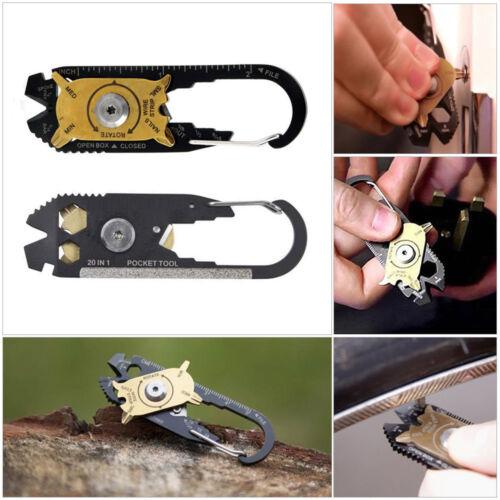 Mini Portable Ourdoor Screwdriver Bottle Opener Wrench Repair Multi-Tool HK