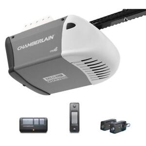 Chamberlain 1/2HP Premium CHAIN Garage Door Opener INSTALLED