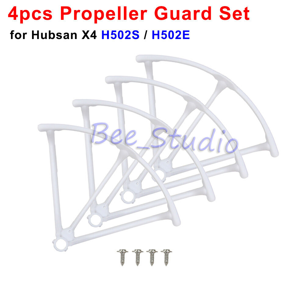 4PCS Original Propeller Guard Cover For Hubsan X4 H502S H502E Drone Quadcopter