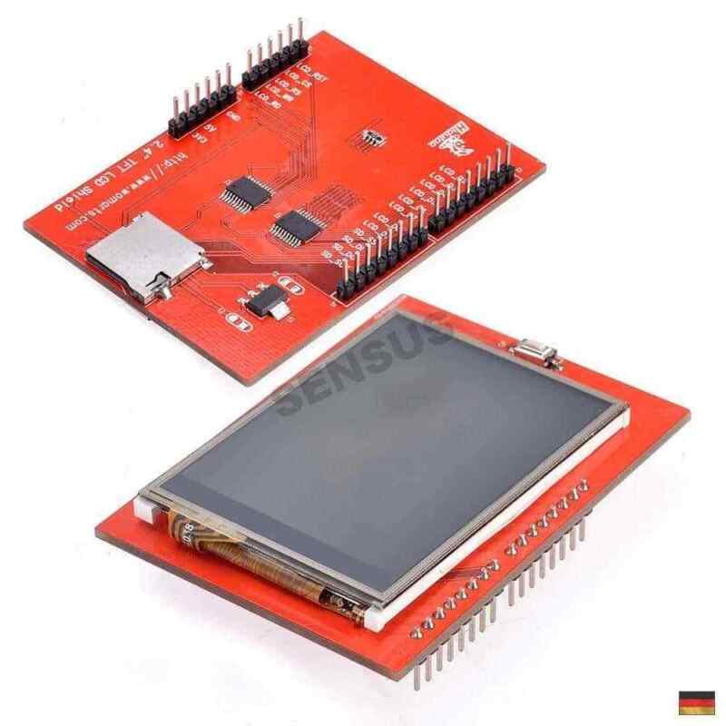 2.4 Zoll Arduino Uno R2 R3 TFT Touch LCD Modul| Display Shield Touchscreen