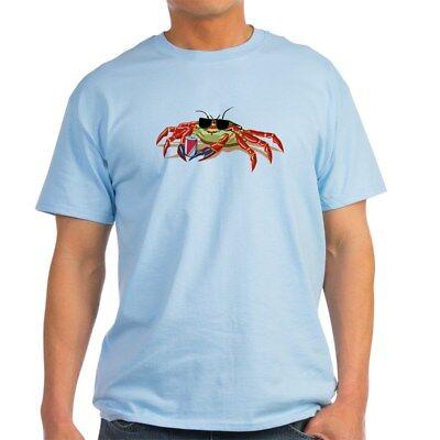 CafePress Cool Cancer Crab Light T Shirt 100% Cotton T-Shirt (Cancer Light T-shirt)