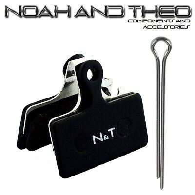 N&t Shimano Br XT M8100 Slx M7100 M6000 Sora R317 Semi Metálico...