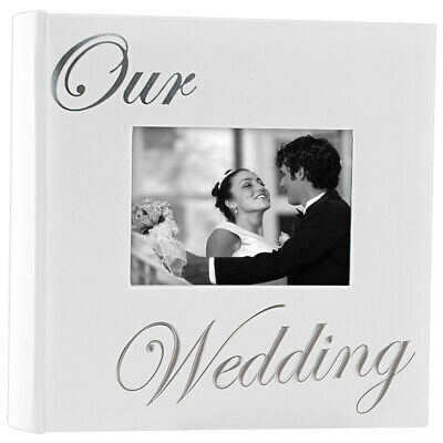 Malden International Designs Our Wedding Photo Album | Holds 160 4 x 6 Pictures