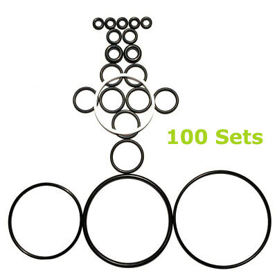 100 X New O-ring Complete Rebuild Kits For Graco Fusion Ap Air Purge 246355