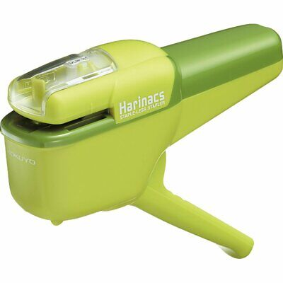 Fs Kokuyo Stapler Harinacs Stapless For 10 Sheets Handy Sln-msh110g Stationery