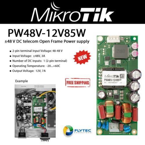 Mikrotik PW48V-12V85W ±48V Open frame Power supply with 12V 7A output