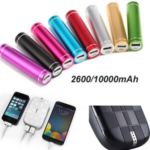 2600 10000mah Usb Power Bank Portable Battery Charger For