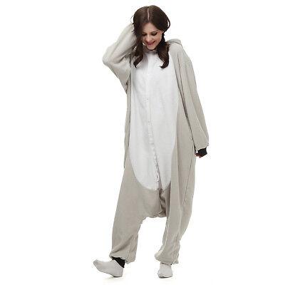 Halloween Onesie Costumes (Halloween Unisex Adults Kigurumi Onesi1 Animal Costume Sleepwear)