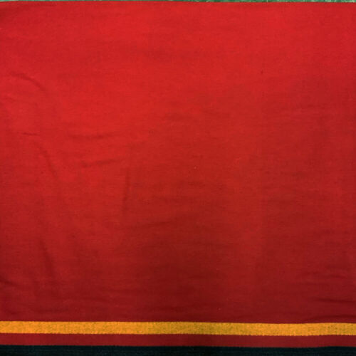 TRADE CLOTH 3 Band Red 100% WOOL