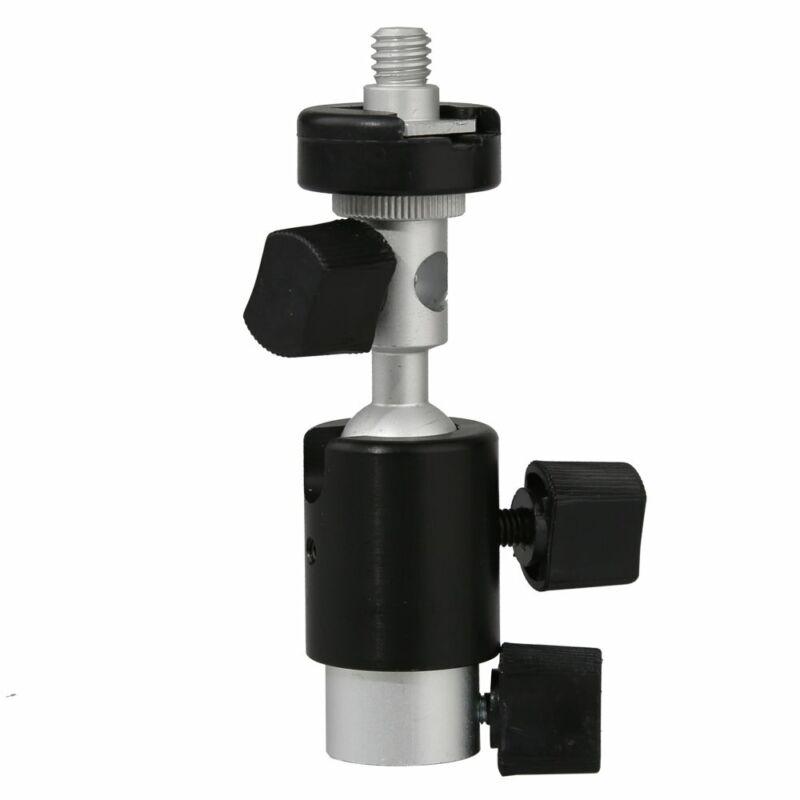 "1/4"" and 3/8"" Screw D Type Flash Bracket 360 Swivel Shoe Umbrella Stand Holder"