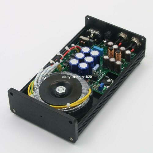 Finished 50VA HIFI Ultra-low Noise Linear Power Supply DC12V+12V  Audio Adapter