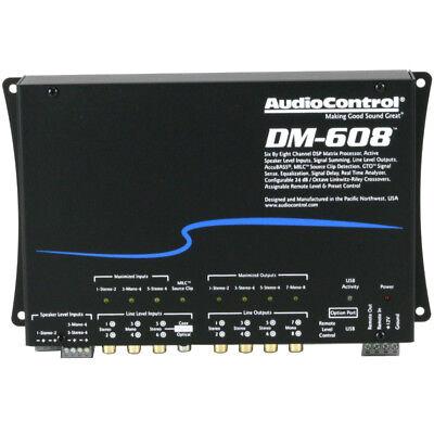 AudioControl DM-608 6 Input 8 Output DSP Matrix Processor 30-Band EQ NEW