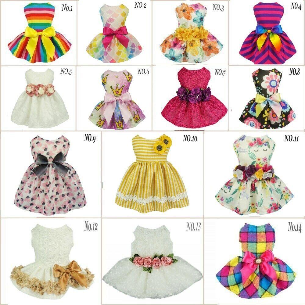 fitwarm-party-princess-dog-dress-wedding-pet-clothes-lace-tutu-dress-bow-apparel