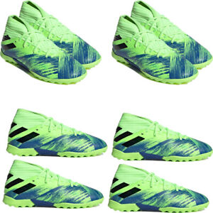 Boys Adidas Astro Turf Football Trainers Boots 19.3 TFJ Soccer Running Shoes