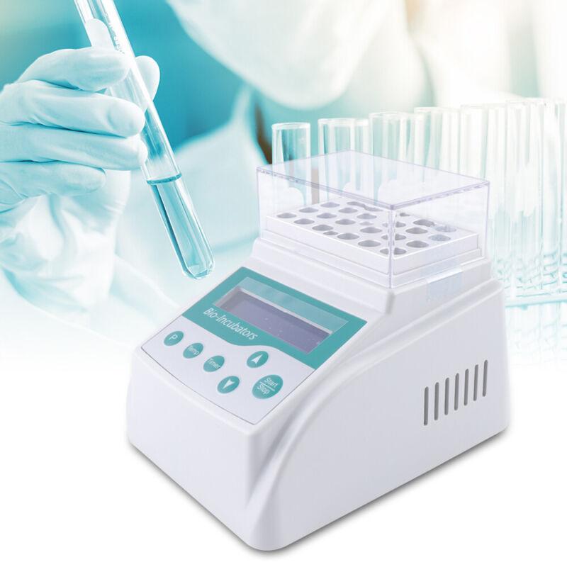 Scientific Mini Digital Dry Bath Incubator with Heating Lid +5 ° C ~ 100 ° C USA