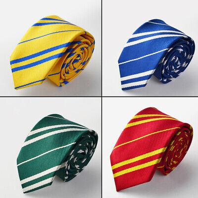 Harry Potter Tie Hogwarts Book Week Gryffindor Slytherin Ravenclaw - Hogwarts Slytherin Kostüm