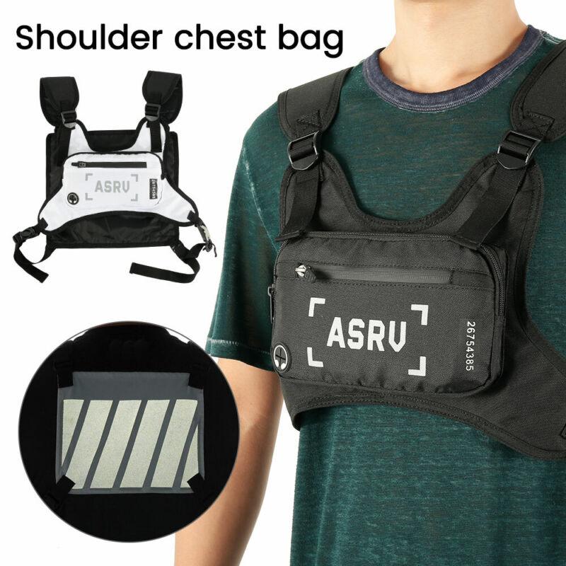 Men Backpack Molle Tactical Sling Chest  Rig  Bag Assault Pa