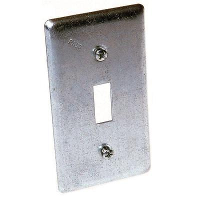 Raco Galvanized Zinc Electrical Switch Box Cover Box Type Square 1 Gang New