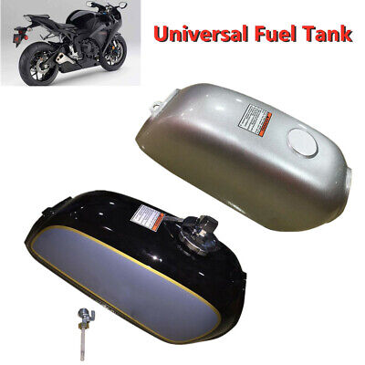 Motorcycle Cafe Racer Steel Fuel Gas Tank&Cap Switch Part Fit for Honda BENLY50S