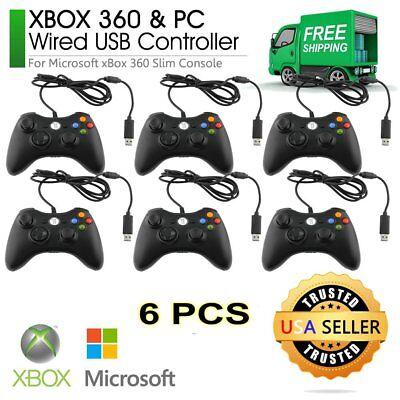 6PCS USB Wired Plan Controller Gamepad Joystick For Xbox 360/Xbox One&PC KZ