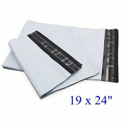 19 X 24 Poly Mailers Envelope Plastic Mailing Bags 50 100 150 300 1000 2.35mil