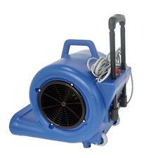 3 Speed Max Storm 5700 CFM Air Mover Carpet Dryer Blower Floor Fan Blue 220V