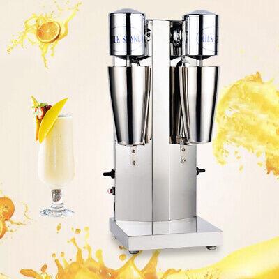 Commercial Milk Tea Shake Milkshake Machine Double Head Drink Mixer 110v 60hz Us