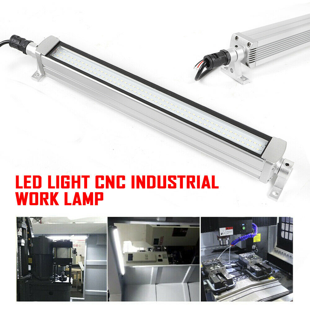 20W LED Milling CNC Machine Tool Work Light Explosion-proof Waterproof Workshop