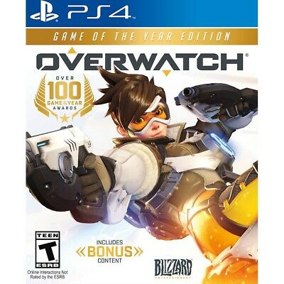 PS4 Overwatch: Game of the Year Edition Brand New Factory Sealed Playstation 4