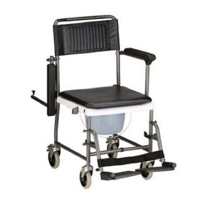 Nova 8805 Drop-arm Shower Transport Chair