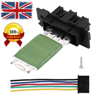 HEATER BLOWER RESISTOR AND WIRING LOOM REPAIR PLUG For FIAT PUNTO GRANDE CORSA R