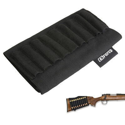 Rifle Ammo Cartridge Holder Pouch Butt Stock for 303 .22 .308 .270 30-06 Shell