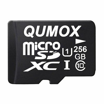 QUMOX 256GB MICRO SD MEMORY CARD CLASS 10 UHS-I 256 GB SPEICHERKARTE