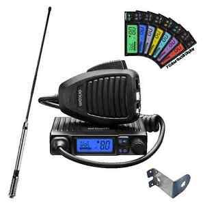 ORICOM UHF300 UHF MICRO 5 WATT 80CH CB RADIO+6.5DBi FGLASS ANTENNA PACK+Z MOUNT