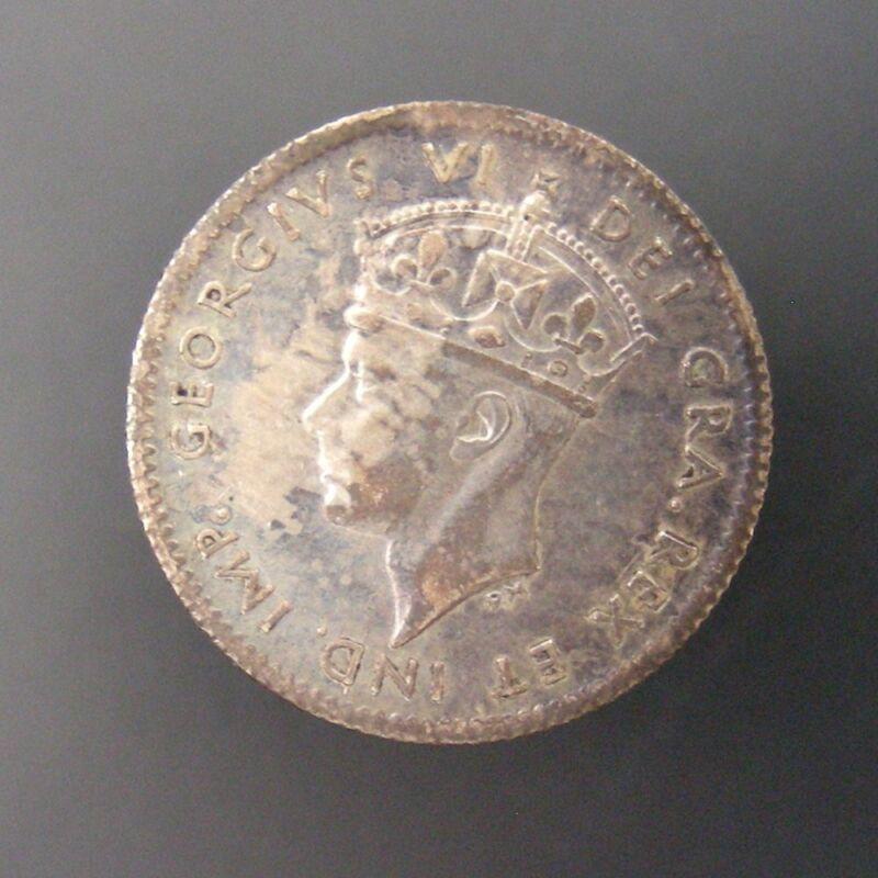 Newfoundland George VI 5c Five Cent Silver 1941-C