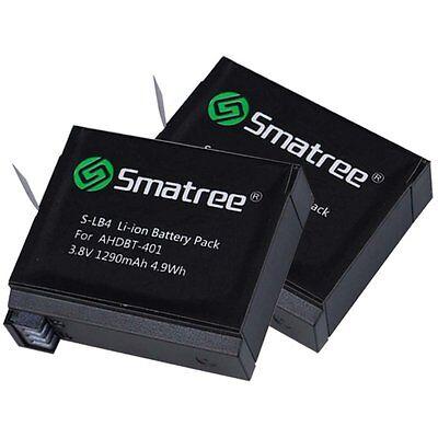 Smatree Battery  for Gopro Hero 4