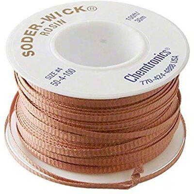 Soder Wick 50-4-100 Power Soldering Equipment Industrial & Scientific