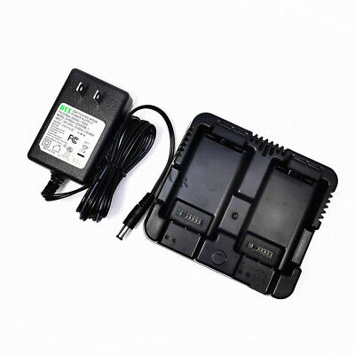 Nikon Nivo 2m 5m 2c 3m 1m Equivalent Dual Charger For Nikon Total Stations