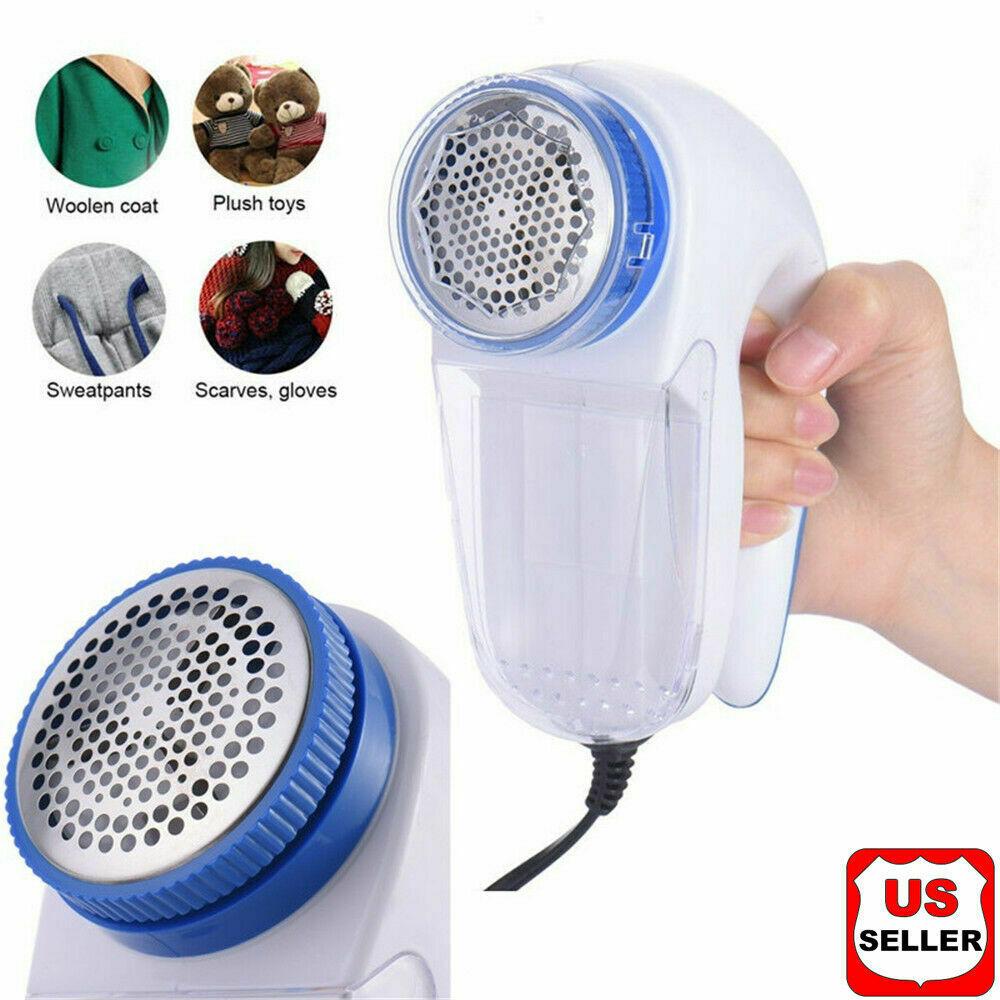 Electric Clothes Lint Pill Fluff Remover Fabrics Sweater Fuzz Shaver Household Home & Garden