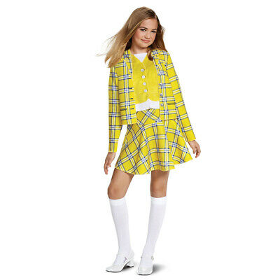 Teen Girls Clueless Movie Cher Halloween Costume](Teenage Halloween Costumes For Girls)